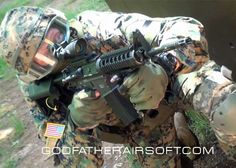 Godfather Airsoft-Elite Force Airsoft Wars Video