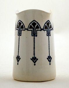 Art Nouveau Vas, Rörstrands porslinsfabriker Stockholm