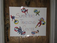 Super Hero Birthday Party- Cute game ideas for 2-3 year olds