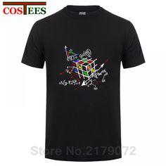 726a99aa3107 T Shirt rubik s cube geek t-shirts for men Programmer Boheki Cheap T Shirts