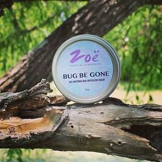 Bug Be Gone Balm. This summer, protect your skin from bugs and chemicals with the all natural and organic soothing balm. Repels gnats, mosquitoes and chiggers.