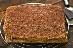 Preparare Prajitura Durere Cream Cake, Ice Cream, Delicious Deserts, Nutella, Tiramisu, Entrees, Cheesecake, Good Food, Appetizers