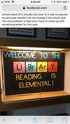 Trendy book shelf ideas for teens bulletin boards 54 Ideas School Library Displays, Middle School Libraries, Elementary Library, School Library Themes, School Library Lessons, Library Skills, Library Signage, Library Posters, Library Programs