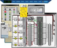 The electrical troubleshooting examples may help sharpen your electrical installation testing skills. The PLC troubleshooting training with PLC maintenance. Basic Electrical Wiring, Electrical Troubleshooting, Electrical Engineering, Computer Projects, Arduino Projects, Diy Electronics, Electronics Projects, Plc Simulator, Programming Tools