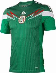 Mexico 2014 World Cup Kits released. The new Mexico 2014 World Cup Kits are  made by adidas. Mexico 2014 World Cup Home Kit is green   white 0fcb0c5aa