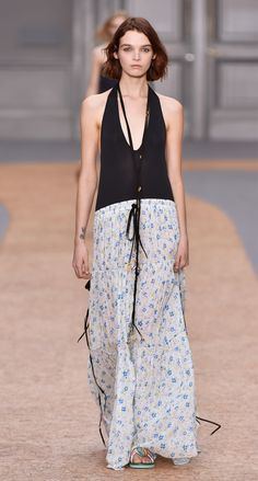Look 4 from the Chloé Spring-Summer 2016 collection