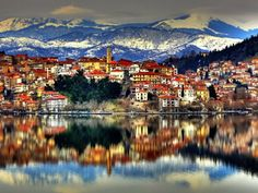 This is City of Kastoria, Greece. Beautiful Islands, Beautiful Places, The Places Youll Go, Places To Go, Places In Greece, Macedonia, Cool Photos, Travel Destinations, Europe