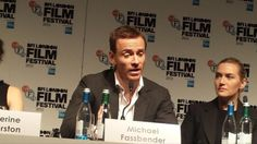 Michael Fassbender - BFI - Steve Jobs Press Conference