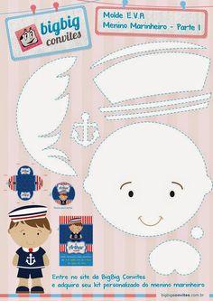 Costurando Sonhos: Tema Marinheiro