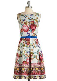 Sew You How It's Done Dress - Eva Franco (Modcloth)