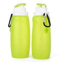 Collapsible Bottle, Silicone Collapsible Pocket-sized Travel Water Bottle|collapsible bottle