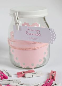 44 bonitas ideas de Bautismo de nena Shaby Chic, Baby Shawer, Ideas Para Fiestas, Holidays And Events, Easter Crafts, Party, Gifts, Diy, Big Shot