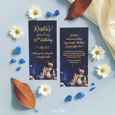 Gorgeous golds with a deep indigo made for a perfect design combination celebrating a 50th birthday party. Stationery design, birthday card.  #stationerydesign #birthdayinvitation #graphicdesign #eventstationery #weddingstationery #luxegold #eventstyling #papergoods #purpleandgold #50thbirthday #fabulous50 #aucklandevents #nzdesign #nzcreatives #nzstationery #modernstationery #DLcards #contemporarystyle #eventstyling #birthdaysupplies #partyprops #nzweddinginvitation #nzweddingstyle…