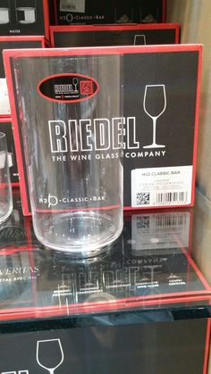 2 Nice crystal glasses for nuggets. At least 22 oz. But these are on sale at herzog in park Royal. (You don't have to transport to Ottawa)
