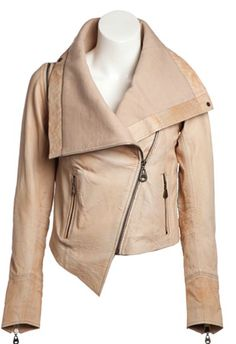 DOMA Nevado Leather jacket as seen on Hilary Duff