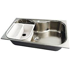 Stainless Steel Large Bowl Kitchen Sink