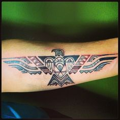 Phoenix Tattoos Meaning 45 Phoenix Bird Tattoo Ideas is part of Phoenix Tattoos Meaning Phoenix Bird Tattoo Ideas - Discover awesome ideas about phoenix tattoo designs and their meaning Tribal Bird Tattoos, Eagle Feather Tattoos, Native Tattoos, Feather Tattoo Design, Eagle Tattoos, Aztec Eagle Tattoo, Navajo Tattoo, Eagle Feathers, Celtic Tattoos