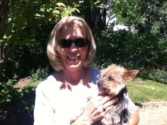 Punkin was thrown away by her first family because she had bad teeth. Turns out she has even worse Kidneys. But she is happy in her forever foster home, with a family that LOVES her dearly. She is pictured here with her sponsor Glenda, who has help support her medical care!.