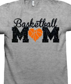 Basketball MoM Shirt Basketball Shirt Mascot by CrookedArrowDesign