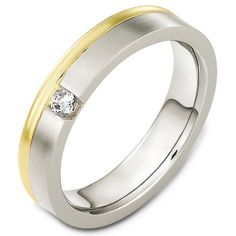 14 K Diamond Wedding Band | www.weddingbands.com | @Wedding Bands