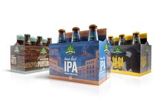 Summit Brewing Co. - 6-pack Packaging | Design by Ken Sakurai