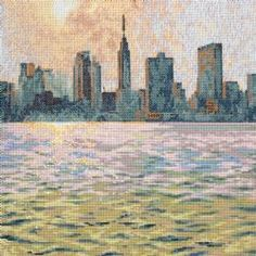 31 Best Cross Stitch Featuring New York City Images