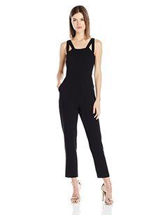 BCBGeneration Women's Cut-Out Jumpsuit - http://www.darrenblogs.com/2017/03/bcbgeneration-womens-cut-out-jumpsuit/