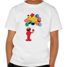 Elmo Balloons T Shirt, Hoodie Sweatshirt