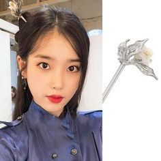 Feeling lavish and extravagant? Be like Jang Man Wol, the CEO of Hotel Del Luna, who loves fancy things just like this hair accessory. Get this latest item inspired from newest Korean Drama Hotel Del Luna to complete your posh look! Iu Hair, New Korean Drama, Piercings, Korean Earrings, Vintage Hair Accessories, Cute School Supplies, Hair Sticks, Vintage Hairstyles, Hair Jewelry
