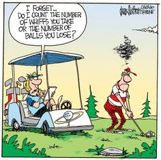 Take note Rock Heads, pick your golfin' partners well! #golf #funny