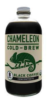 black coffee chameleon cold-brew concentrate
