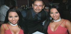 Gêmeas que namoram mesmo homem revelam plano de casamento a três