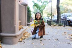 """I'm bringing leaves to my friend!"""