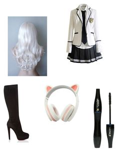 """""""Untitled #29"""" by lilyloading on Polyvore featuring Christian Louboutin and Lancôme"""