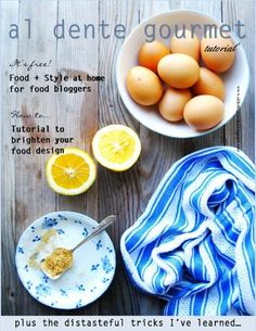 Food styling at home