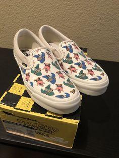 8fb150713b VANS x SPONGEBOB SLIP ONS SIZE 10 MENS  fashion  clothing  shoes   accessories