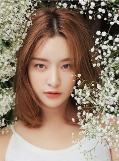 Find images and videos about fashion, korean and ulzzang on We Heart It - the app to get lost in what you love. Korean Makeup Look, Korean Beauty, Asian Beauty, Beauty Makeup, Hair Makeup, Hair Beauty, Korean Girl, Asian Girl, Byun Jungha