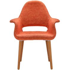 Buy EdgeMod EM-141-ORA Barclay Dining Chair in Orange online. The ultimate in…
