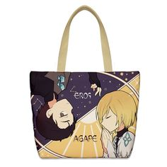 Anime Tote Bag Shopper Manga Japan Comic Animation Superhero Funny Gift Film
