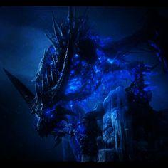 Sindragosa ⛄️❄️#dragon #undead #frostdragon #lichking #scourge #drake #sindragosa #bonedragon #wotlk #northrend #icc #lichking #wow #worldofwarcraft