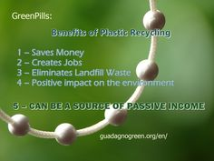 The Benefits of Plastic #Recycling #passiveincome
