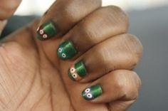 Teenage Mutant Ninja Turtle Nails by eika5