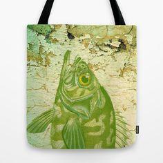 Big Green Fish Tote