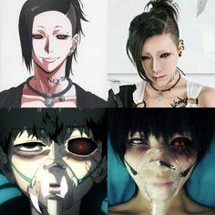 Uta and Kaneki - Tokyo Ghoul cosplay