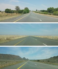 Driving through South Africa