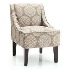 Marlow Gabrieel Accent Chair (Stone), Grey (Fabric)