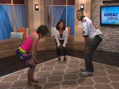 When you wake up in the morning are you cracking your back and neck trying to find relief? If so, This T-Tapp exercise will do wonders for you. Today on Great Day Tampa Bay (GDTB) Teresa Tapp took us through a T-Tapp Spine stretch and OH YESSS, we felt the cob webs pop right off the body. For more info go to t-tapp.com