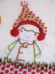 Tutorial: Christmas embroidery mounted oncanvas - ornament | Sewn Up