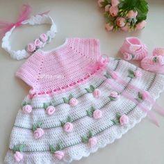 Crochet Gifts, Crochet Baby, Knit Crochet, Creative Gifts, Unique Gifts, Love To Shop, Baby Girl Dresses, Beautiful Crochet, Crochet Flowers