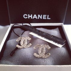 I love my chanel earrings #chanel #authentic